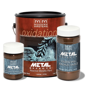 Oxidizing Bronze Paint