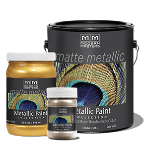 Metallic Paint Collection - Matte Sheen (MM)