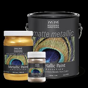 Metallic Paint Collection - Matte Sheen (MM)