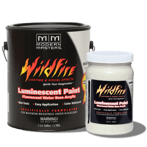 Invisible Fluorescent Paint