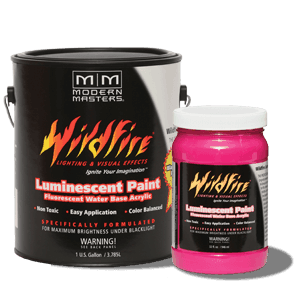 Visible Fluorescent Paint